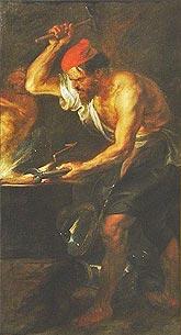Хефест - покровителят на огъня и изкусен ковач